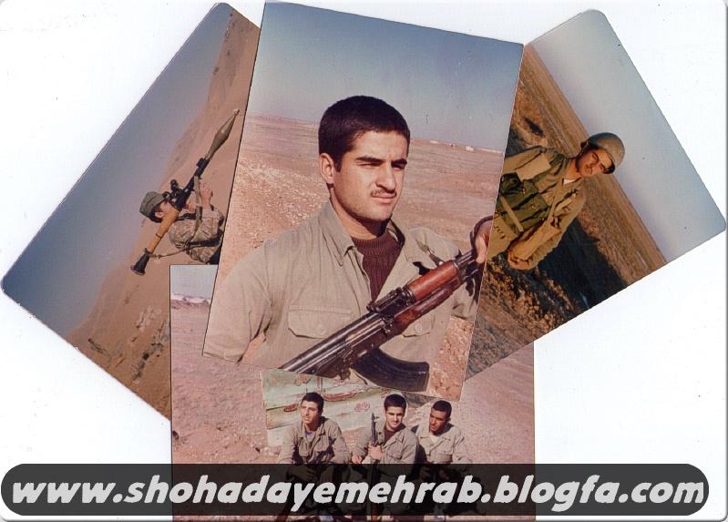عکس هایی از جانباز رزمنده عبدالحسن(حسین) خادمی
