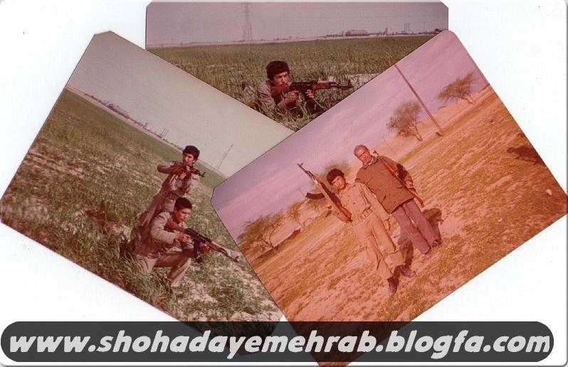 عکس هایی از جانباز رزمنده علی اکبر خادمیان