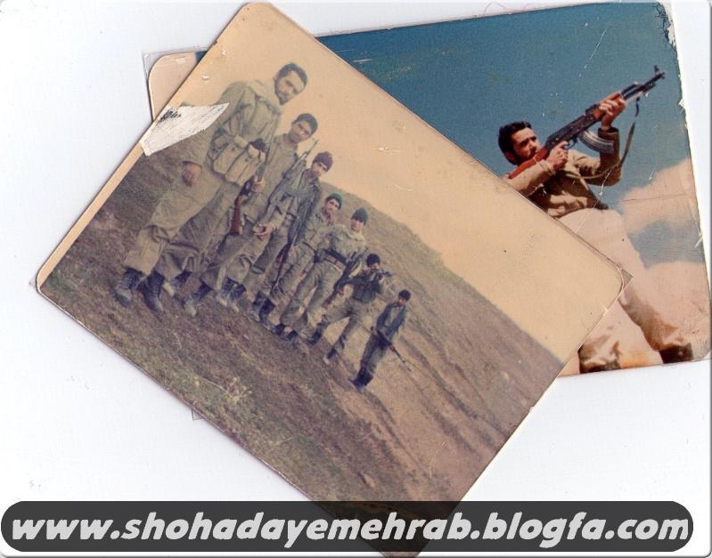 عکس هایی از بسیجی رزمنده مرحوم قنبر خادم الحسینی
