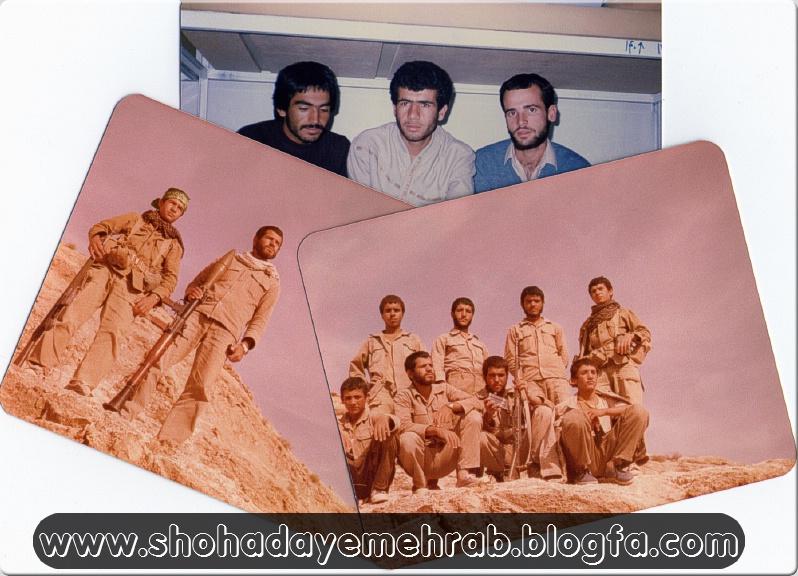عکس هایی از بسیجی رزمنده حاج ممجد خادم الحسینی و حاج موحد خادم الحسینی
