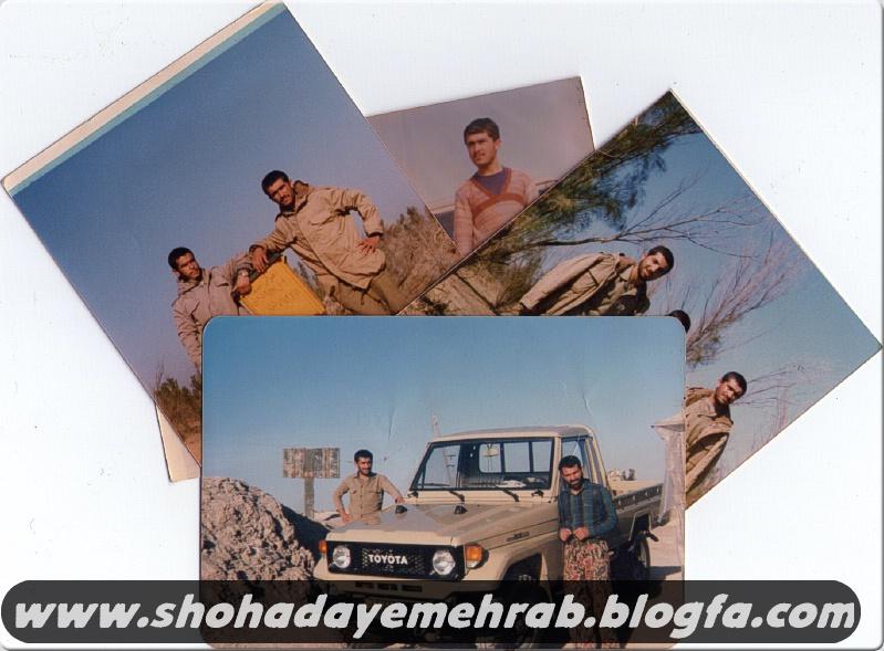 عکس هایی از جانباز رزمنده محمدعلی خادمیان