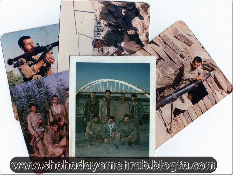 عکس هایی از جانباز رزمنده سیف الله خادمی